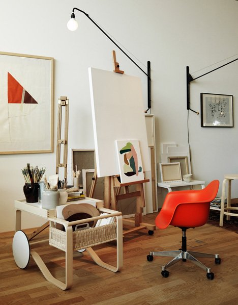 Studioilse VitraHaus loft with Vitra and Artek furniture