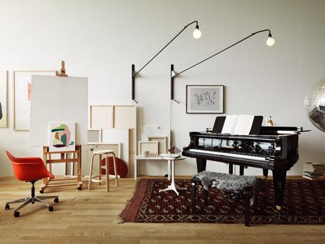 Studioilse VitraHaus loft with Vitra and Artek furniture