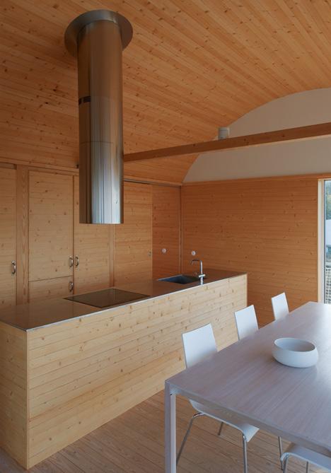 Summer houses in Slavik by Mats Fahlander