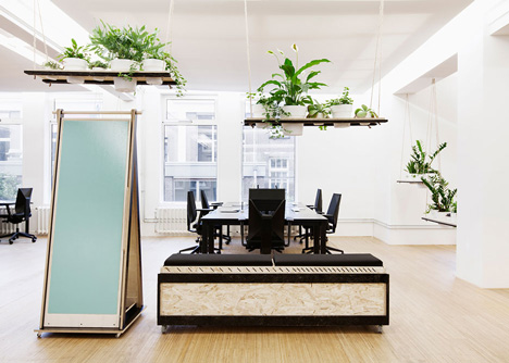 Superheroes office in Amsterdam by Simon Bush-King Architecture and Urbanism
