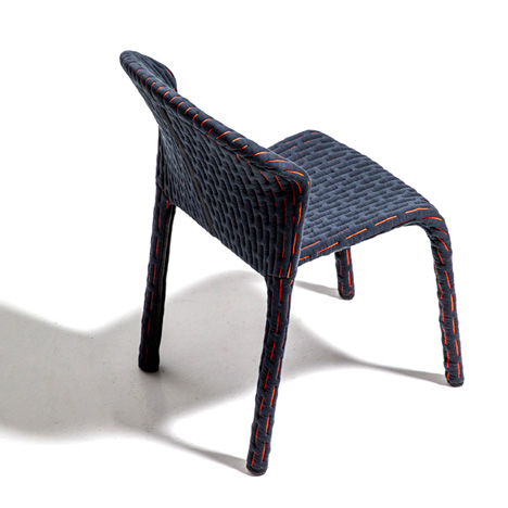 Benjamin Hubert dresses up dining chairs with Talma collection for Moroso