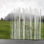 Bus stops by Sou Fujimoto and Wang Shu shake up an Austrian village