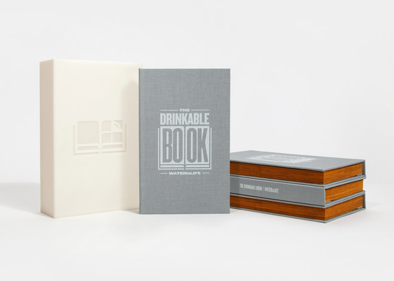 The Drinkable Book by Brian Gartside