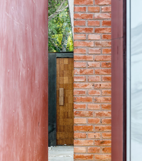 The Forbidden City Red-Wall Teahouse by Cutscape Architecture