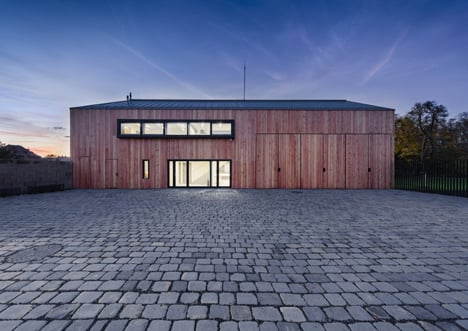 The National Centre of Garden Culture by Architekti DRNH in Czech Republic