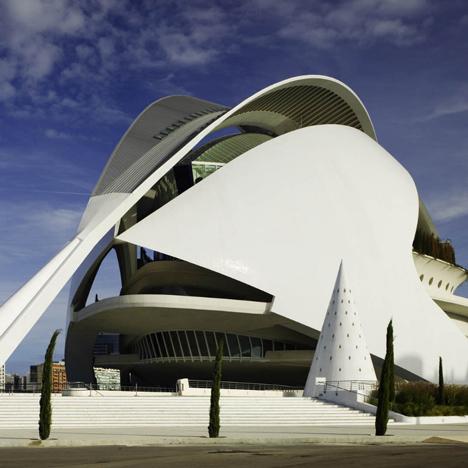 The Palau de les Arts Reina Sofia by Santiago Calatrava