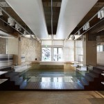 Tokyo boutique by Nobuo Araki sits inside an old swimming pool