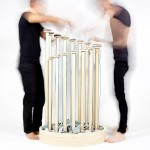 Fabrica researchers create electronic musical instrument from stones and wood