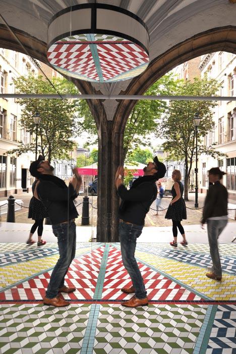 Tile Mile by Russ + Henshaw at Clerkenwell Design Week