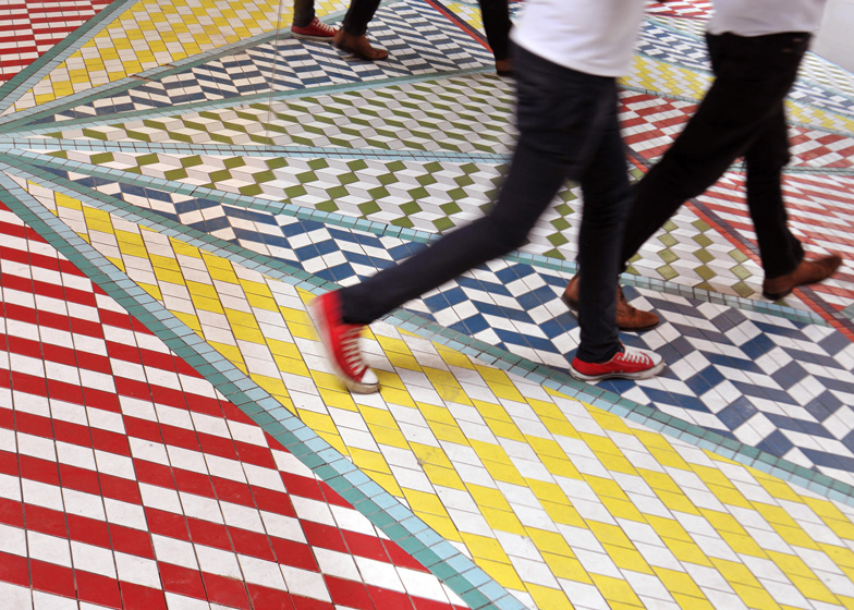 Tile Mile by Russ + Henshaw at Clerkenwell Design Week