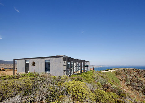 Tunquen House by Mas Fernandez Arquitectos