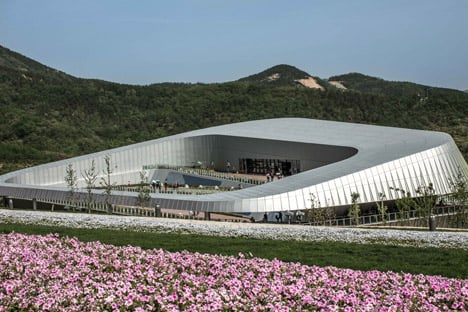 UNStudio pavilions for Qingdao Horticultural Expo