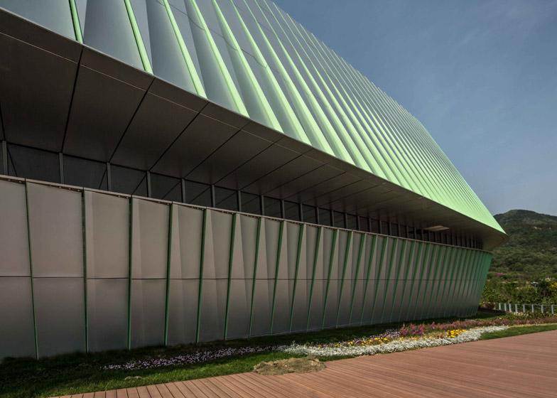 UNStudio pavilions for Qingdao Horticultural Expo