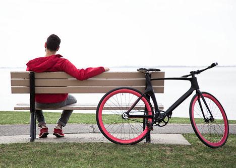 Valour carbon fibre bicycle by Vanhawks_dezeen_6