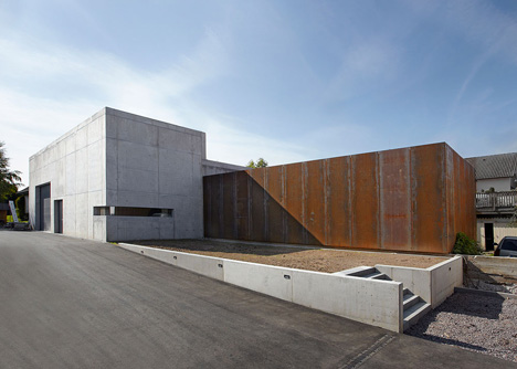 Wine Press Hall by Burkhard Architekten