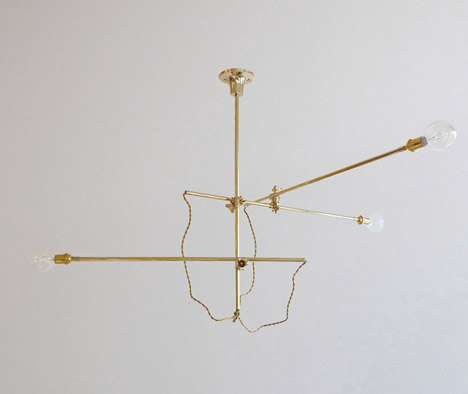 Industrial Chandelier by Workstead for Another Country