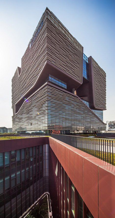 Xi'an Jiaotong-Liverpool University Administration Information Building by Aedas