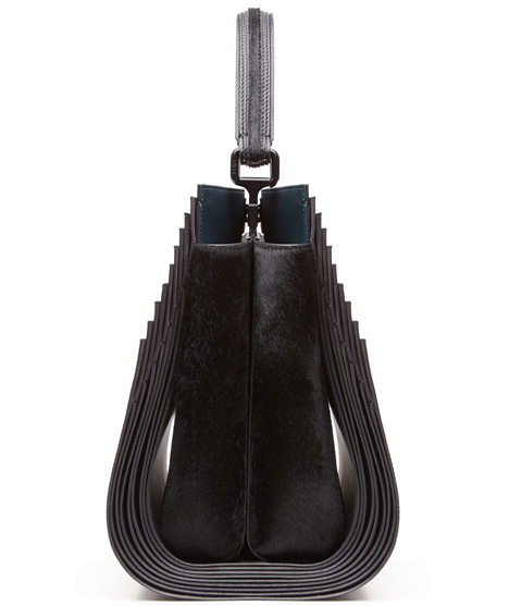 Zaha Hadid Peekaboo leather bag for Fendi