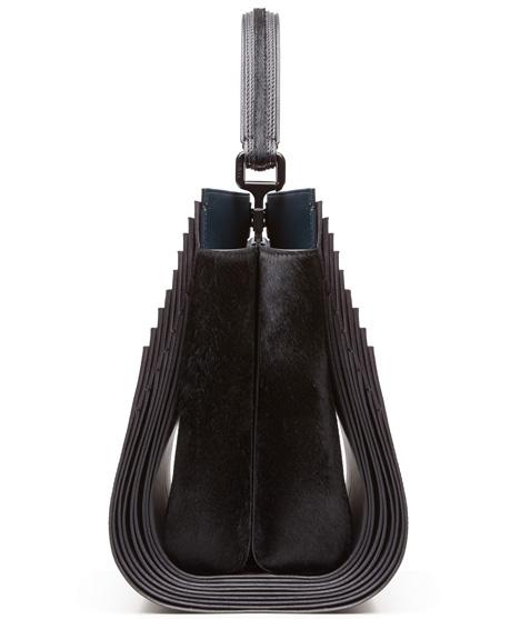 Zaha Hadid Peekaboo leather bag for Fendi