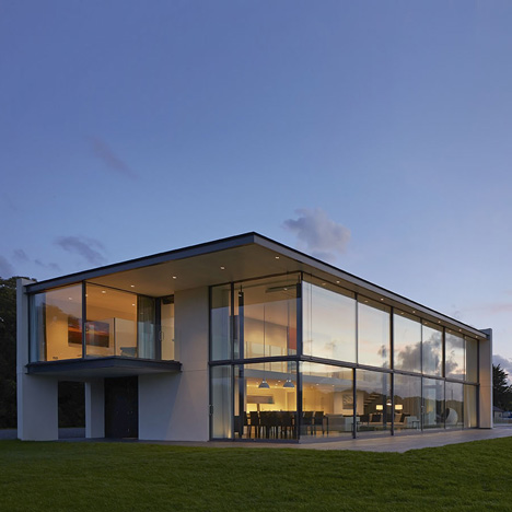 The Manser Practice creates a house for a yachtsman on the Isle of Wight