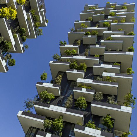 Stefano Boeri's &quotvertical forest&quot&ltbr /&gt nears completion in Milan