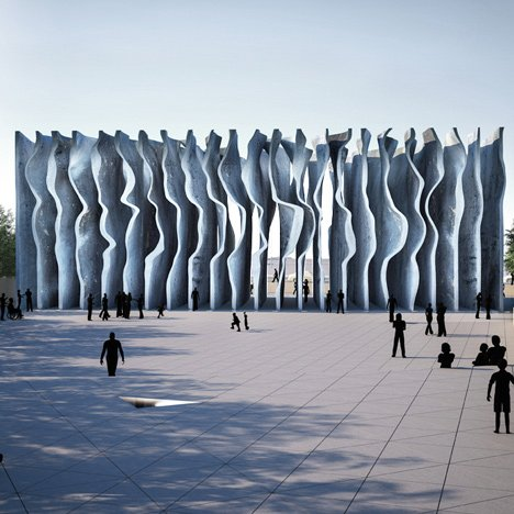 David Adjaye and Ron Arad reveal defeated National Holocaust Monument design