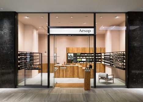 Aesop Grand Front Osaka by Torafu Architects