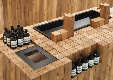 Aesop Grand Front Osaka by Torafu Architects