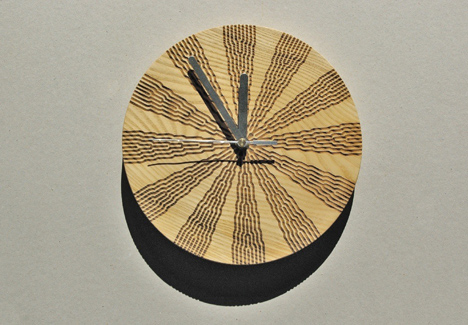 Wall Clock by Agne Matulionyte