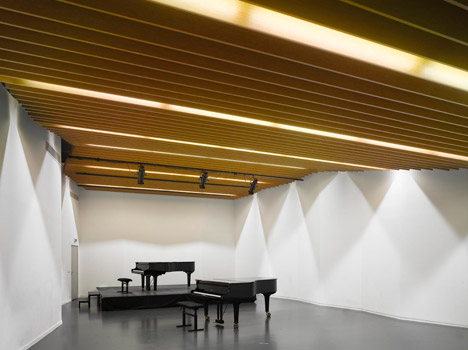 Aix en Provence Conservatory of Music by Kengo Kuma