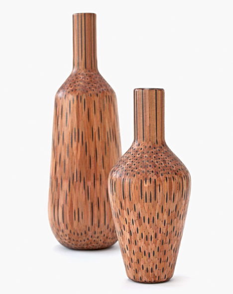 Amalgamated vases by Tuomas Markunpoika