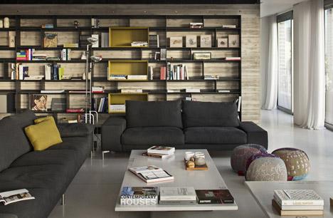 Antokolsky penthouse by Pitsou Kedem