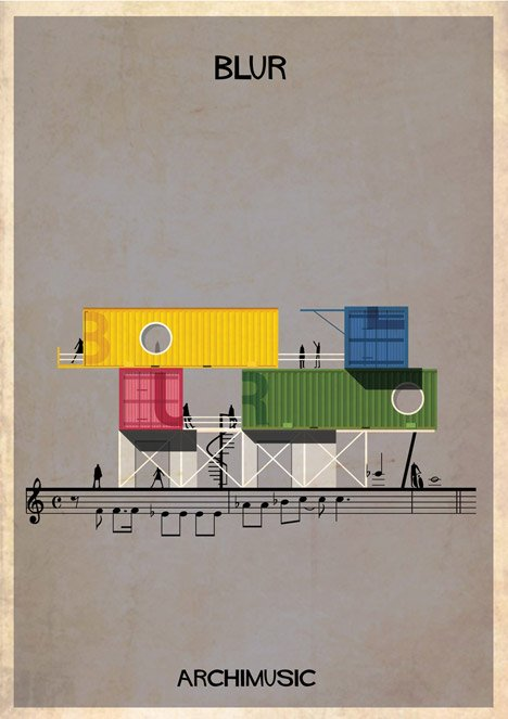 Archimusic by Federico Babina – Song 2 by Blur