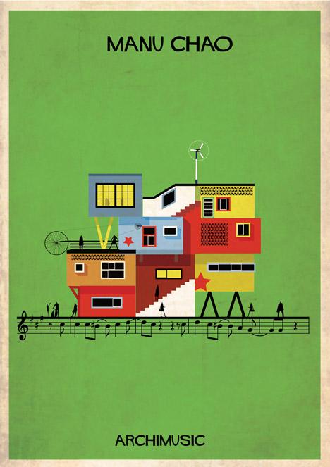 Archimusic by Federico Babina – Me Gustas Tu / Desparecido by Manu Chao