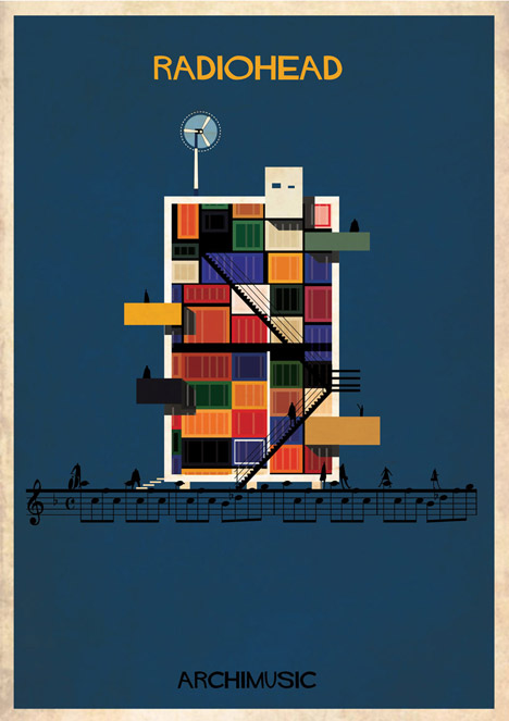 Archimusic by Federico Babina – No Surprises by Radiohead