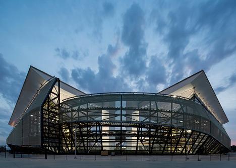 Arena Pantanal by GCP Arquitetos, Ciuabá