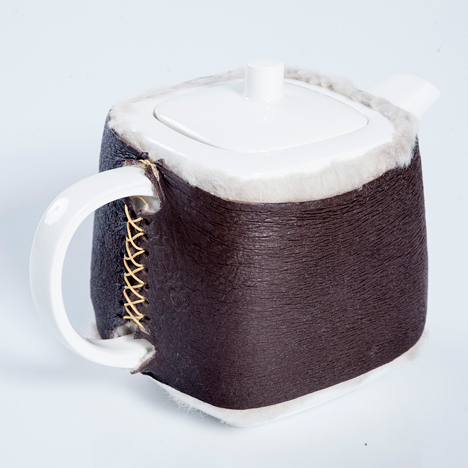 Hlutagerðin recreates ancient Icelandic armour for tea cosy and tablet case