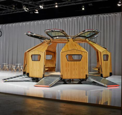 Audi at Design Miami Basel 2014 Konstantin Grcic designs the TT Pavilion
