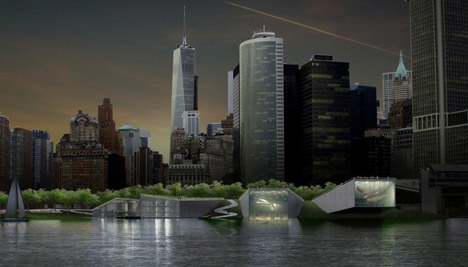 Big U Manhattan flood defences by BIG and One Architecture