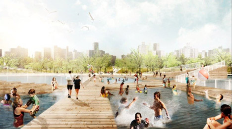 BIG rebuild by design competition Lower Manhattan