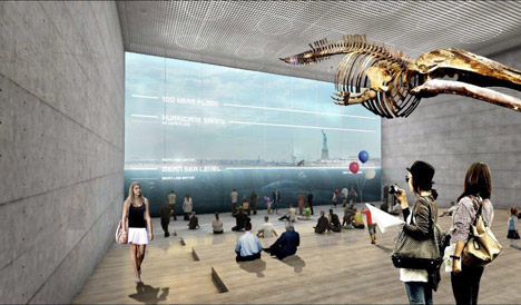 Big U Manhattan flood defences by BIG and One Architecture