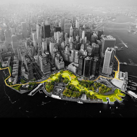 BIG rebuild by design competition Lower Manhattan