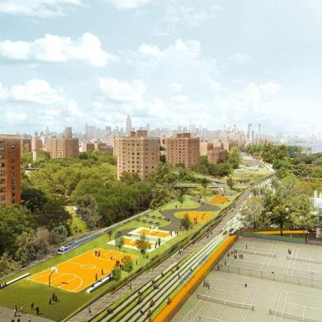 "Big U storm defences ""will secretly protect Manhattan from flooding"" says Bjarke Ingels"
