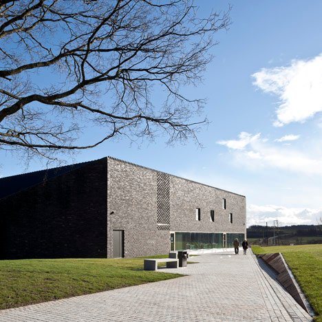 Bannockburn Battlefield Visitor Centre Stirling by Reiach and Hall Architects_dezeen_50sqa