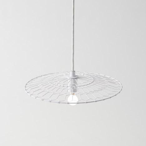 Basket lamp by Nendo for Kanaami-Tsuji