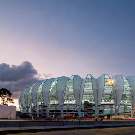 Brazil's FIFA World Cup 2014 stadiums photographed by Leonardo Finotti