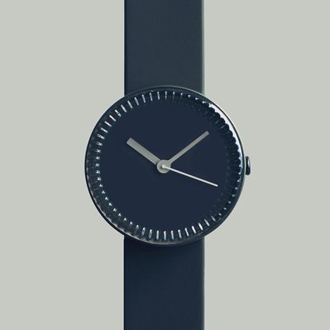 Bottle watch in blue