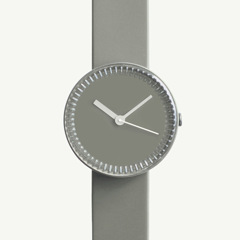 Bottle watch in grey