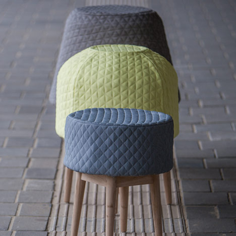 Bounce stools by Veronique Baer