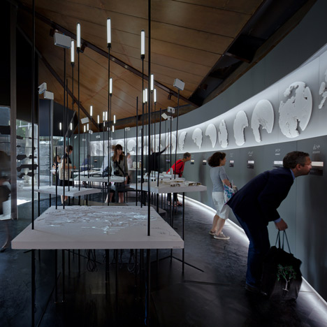 "Canadian Pavilion examines move ""from igloos to internet"" in Inuit communities"